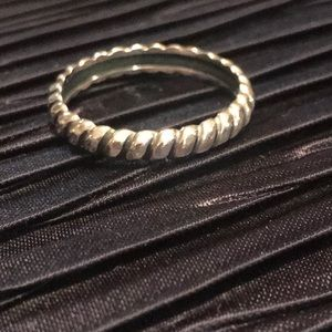 SILPADA Sterling Belle Fleur R2745 Ring Size 7 3/4